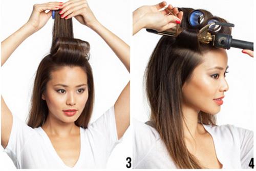 10 phút để có mái tóc bồng bềnh dạo phố - 2