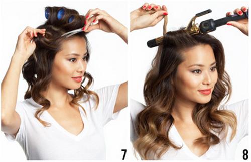 10 phút để có mái tóc bồng bềnh dạo phố - 4