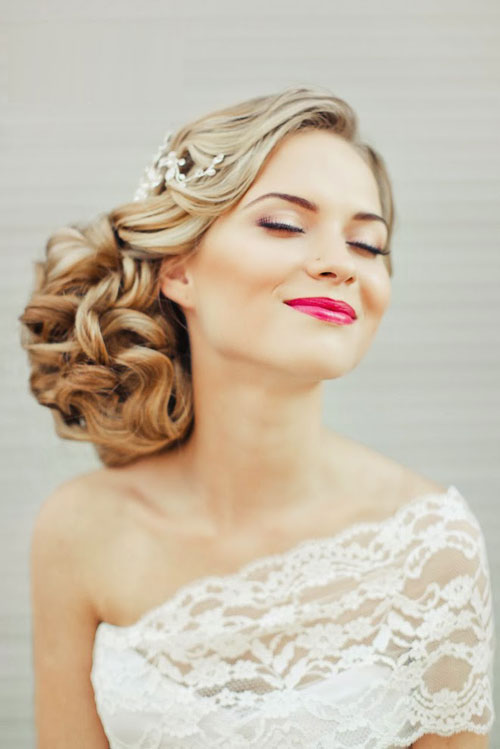 Xu hướng tóc cho cô dâu mùa cưới 2017